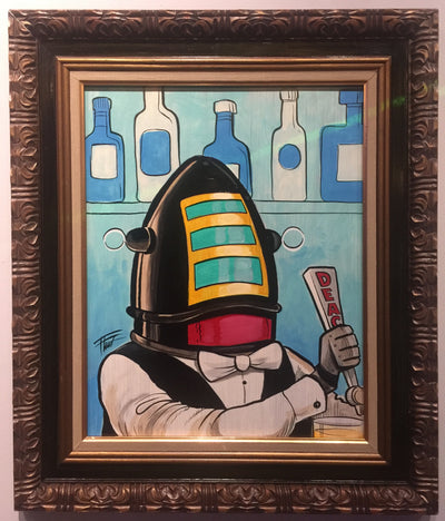 """Robot Bartender"" by William ""Bubba"" Flint $275"