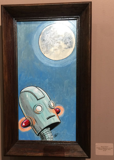 Moon Robot by William Bubba Flint