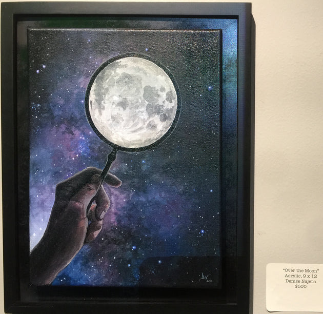 Over the Moon by Denise Najera