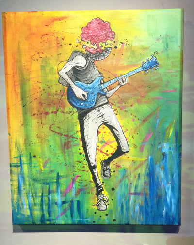 """Explosive Solo"" by Chase Fleischman $275"