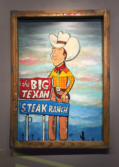 """Big Texan"" by William ""Bubba"" Flint $200"