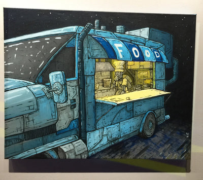 """Food Truck"" by Chase Fleischman $225"