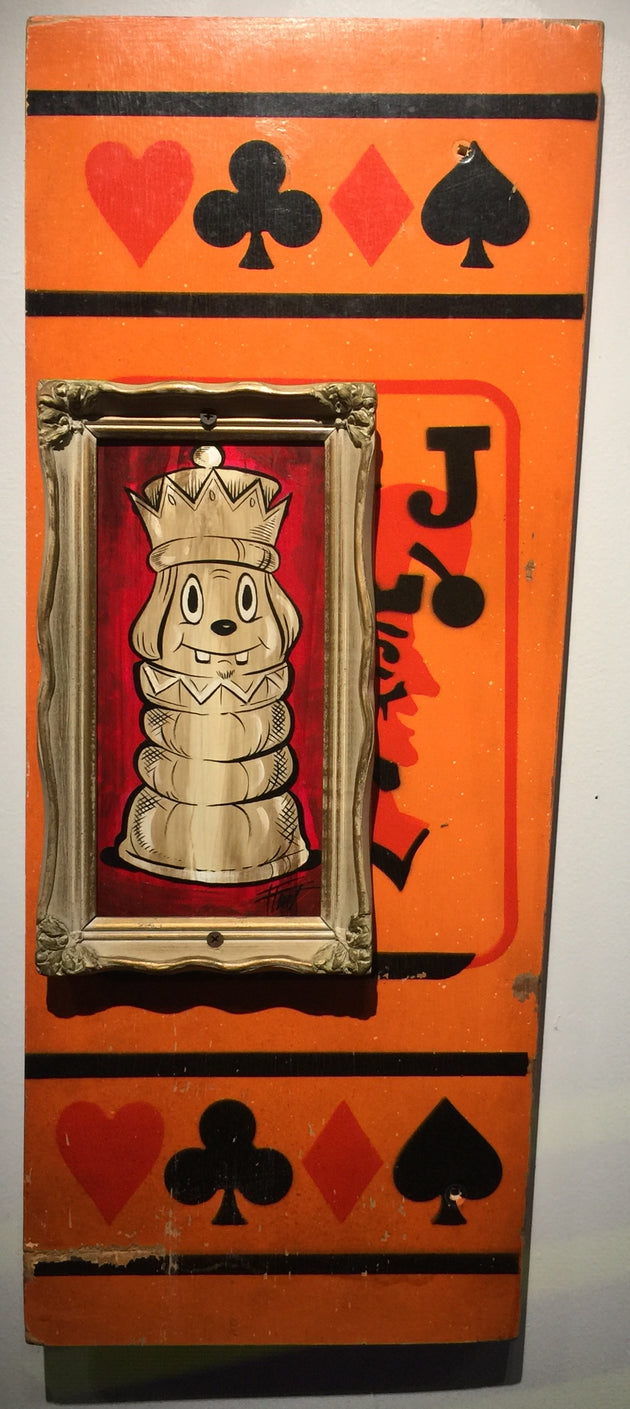 """Jack Pawn"" by William ""Bubba"" Flint $120"