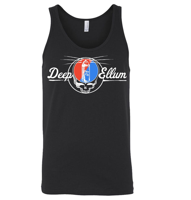 Steal Your Face Black Tank