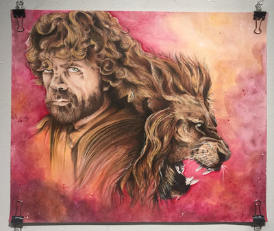 """A Lannister Always Pays his Debts"" by Alex Hundemer  $300"
