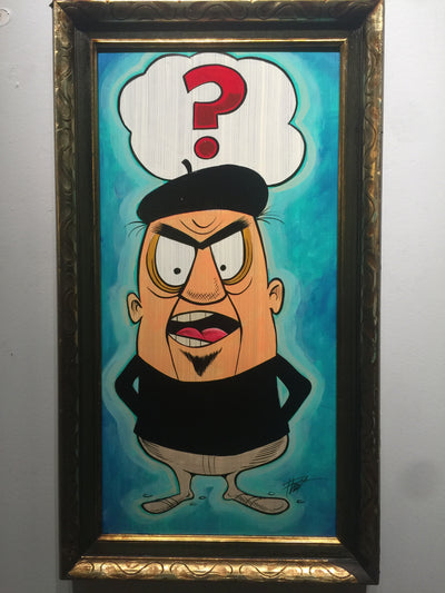 """Question Everything"" by William ""Bubba"" Flint  $175"