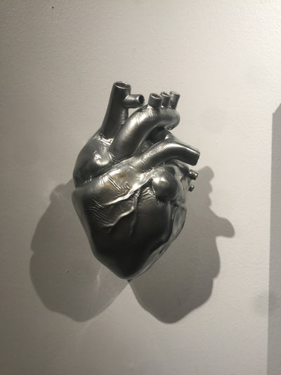 """Tin Man's Heart"" by Ashley Jacob  $117"