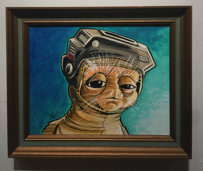 """Babu Frik"" by William ""Bubba"" Flint  $150"