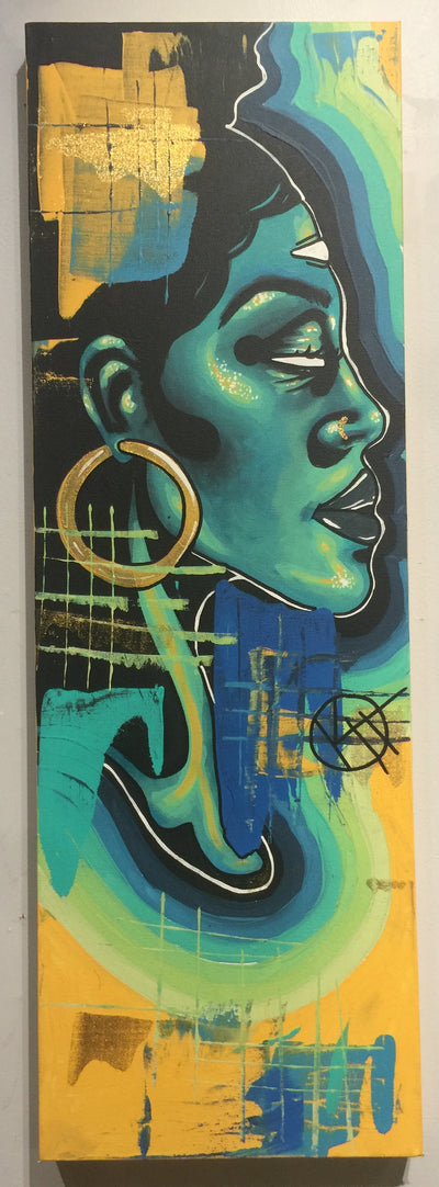 """Zoned"" by Kyle Huffman  $175"
