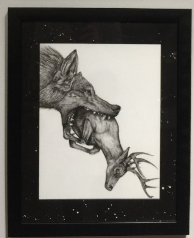 """Escaping the Natural Order"" by Alex Hundemer  $300"