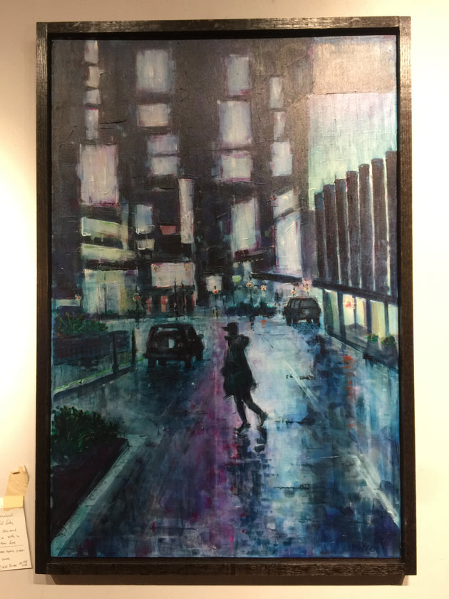 """Times Square, October"" by Cleigh Pascoe  $449"