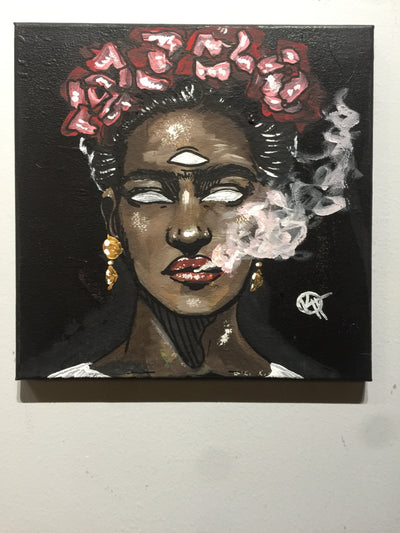 """Frida"" by Kyle Huffman  $65"