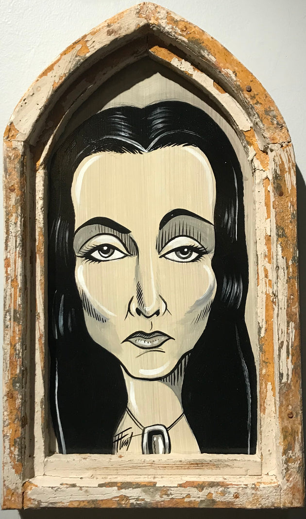 """Morticia"" by William ""Bubba"" Flint"