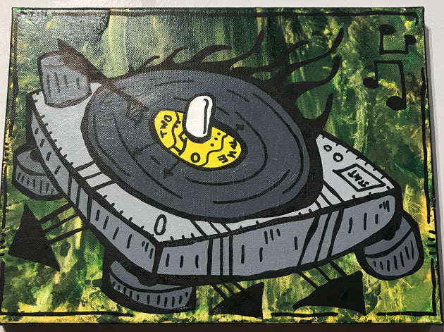 """Two tone turntable"" by Matt Lumpkins"