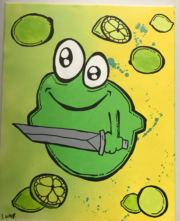 """Angry Lime Brother #2 by Matt Lumpkins"