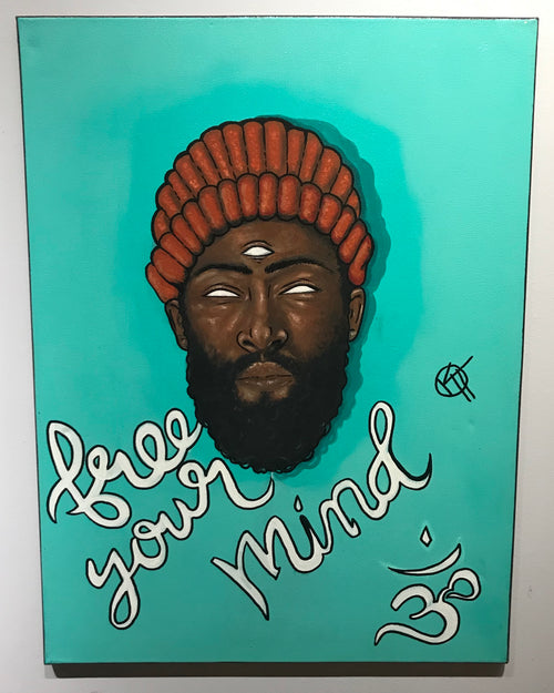 """Free your mind"" by Kyle Huffman $300"