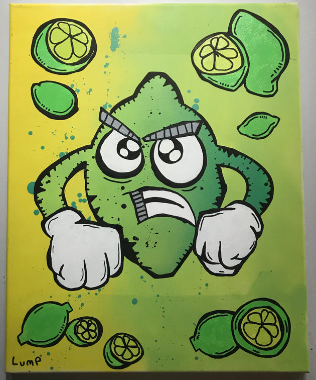 """Angry Lime Brother #1"" by Matt Lumpkins"