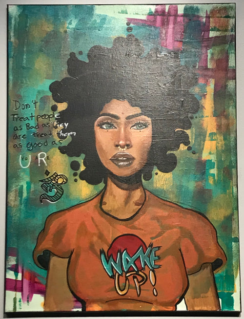 """Wake Up"" by Kyle Huffman $300"