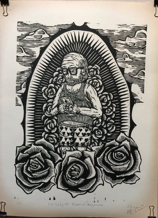 """Our Lady Of Perpetual Forgiveness"" by Ben Muñoz"