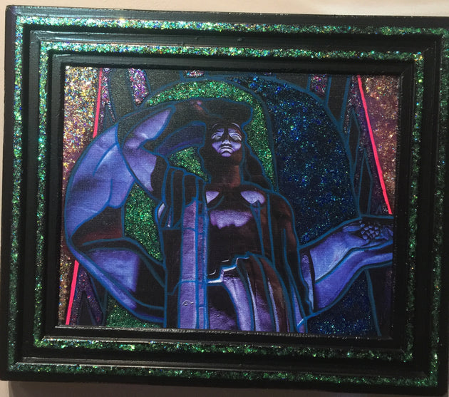 """Of the Patronized Feminine"" by Andrew Sherman & Oscar Quesada  $200"