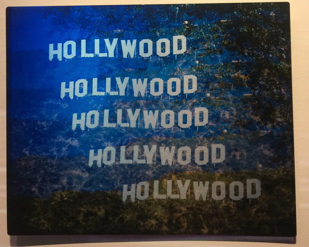 """Hollywood"" by Andrew Sherman  $125"