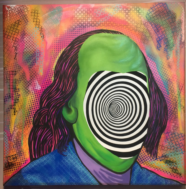 """Don't Pannek Benjamin Franklin"" by Preston Pannek  $450"