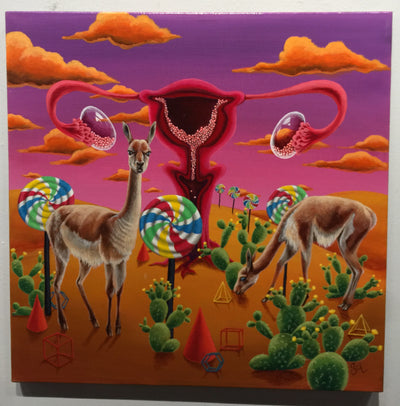 """Life and Non-Perishables in the Desert"" by Sarah Curl-Larson  $395"