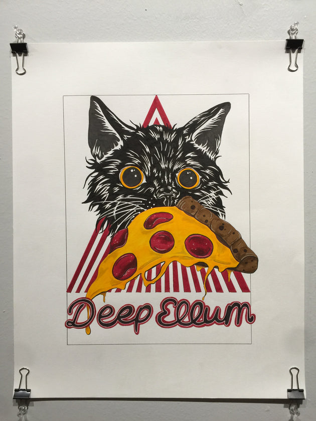 """Deep Ellum"" by Alex Hundemer  $75"