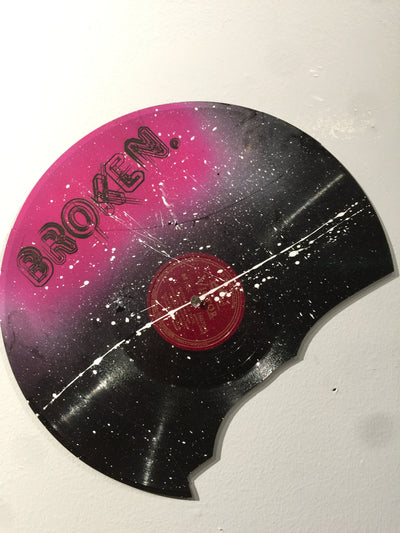 """Broken Record"" by Ashley Jacob  $55"