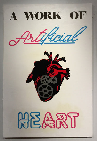 """Heart"" by Ashley Jacob  $225"