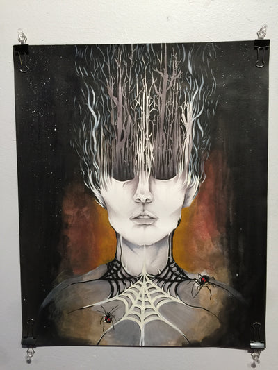 """Forest Queen"" by Alex Hundemer  $150"
