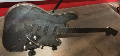 """Fender Stratocaster"" by James Bauer"