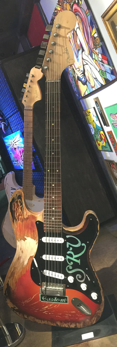 """Stevie's 'Number 1' 62 Stratocaster"" by James Bauer & Pascale Pryor"