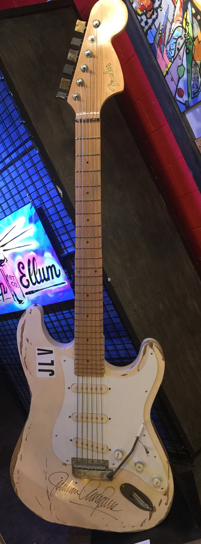 """Jimmy Vaughan's Guitar, *signed* by Jimmie Vaughan, March 2016"""" by James Bauer & Pascale Pryor"