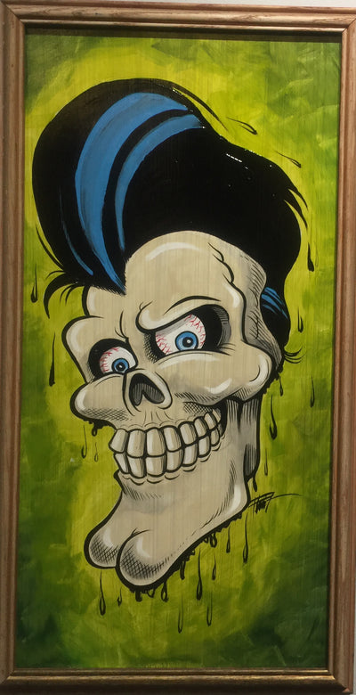"""Rockabilly Skeleton"""