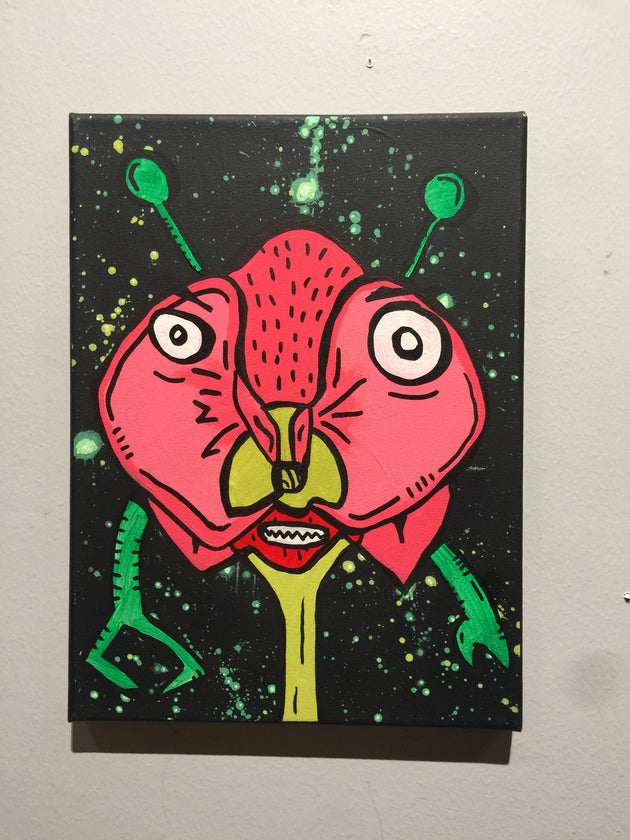 """Flower Child"" by Matt Lumpkins $35"