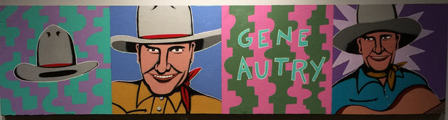 """Sweet Singing Cowboy Memory"" by Steve Cruz $250"