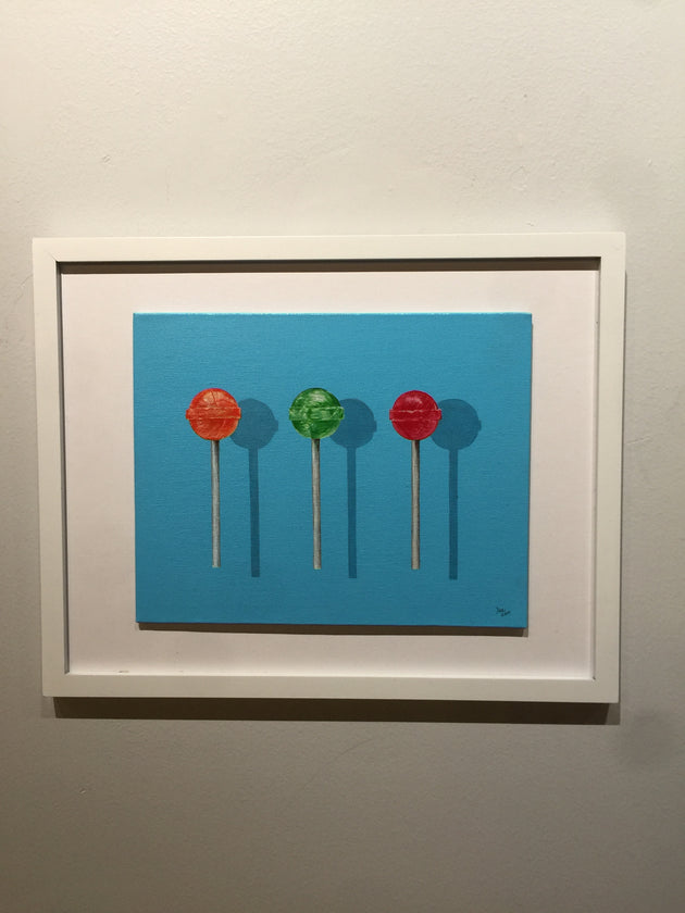 """Dum-Dum Lollipops"" by Denise Najera $150"