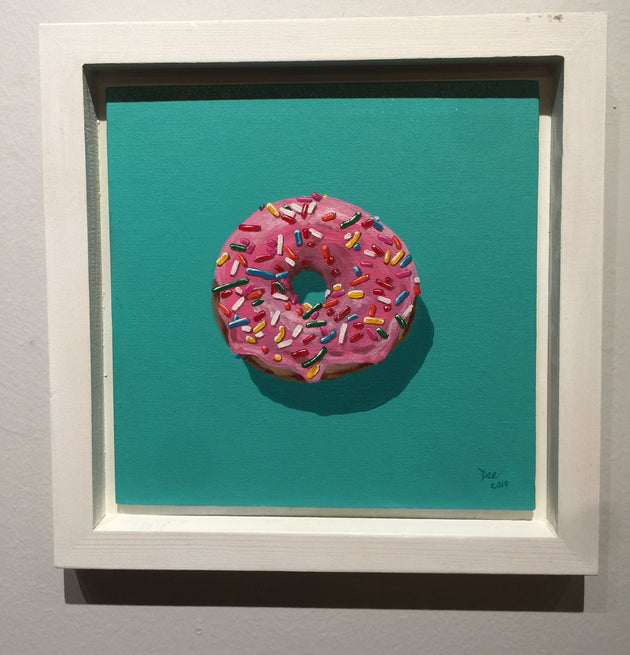 """Sprinkle Donut"" by Denise Najera $150"