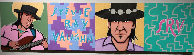 """Sweet Stevie Ray Memory"" by Steve Cruz $250"