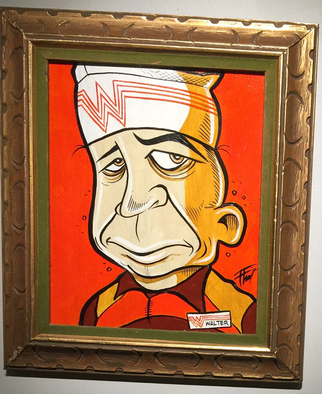 """Walter"" by William ""Bubba"" Flint $100"