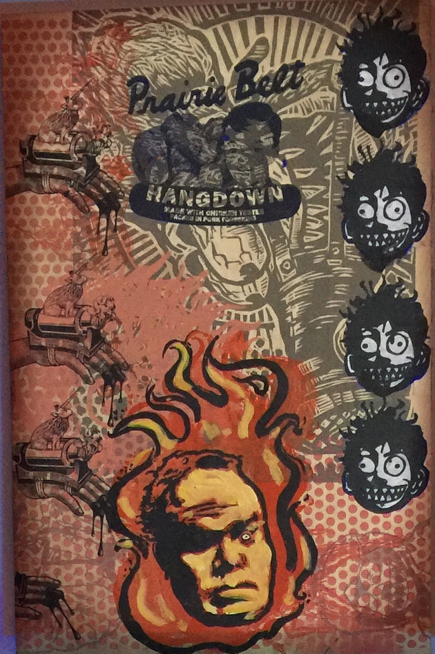 """Hangdown Head on Fire"" by The AMAZING Hancock Brothers"