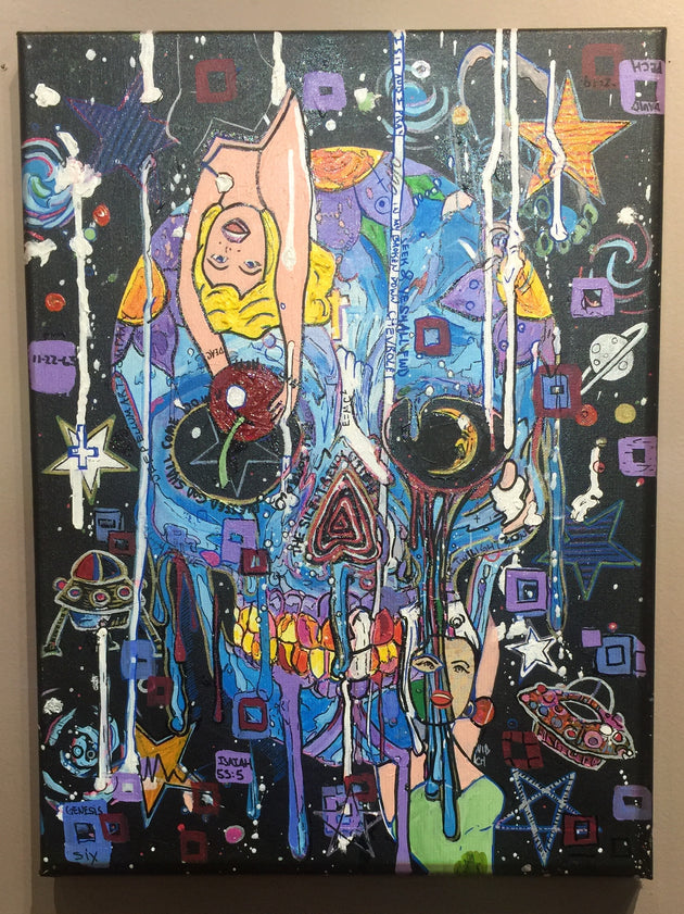 """Good Vibrations"" by David Pech $150"