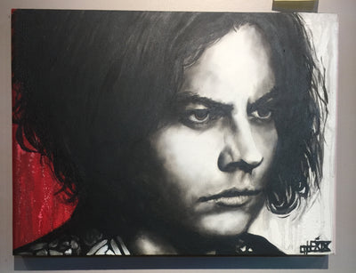 """Jack White"" by Cabe Booth $375"