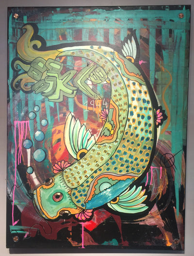 """Swim"" by Kyle Huffman $600"