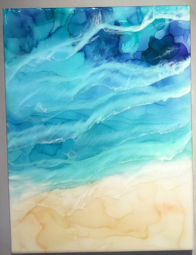 """Grand Cayman"" by Artist 'till Death Studio $275"