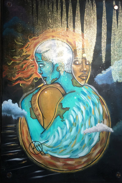 """Eternal Embrace"" by Kyle Huffman $400"