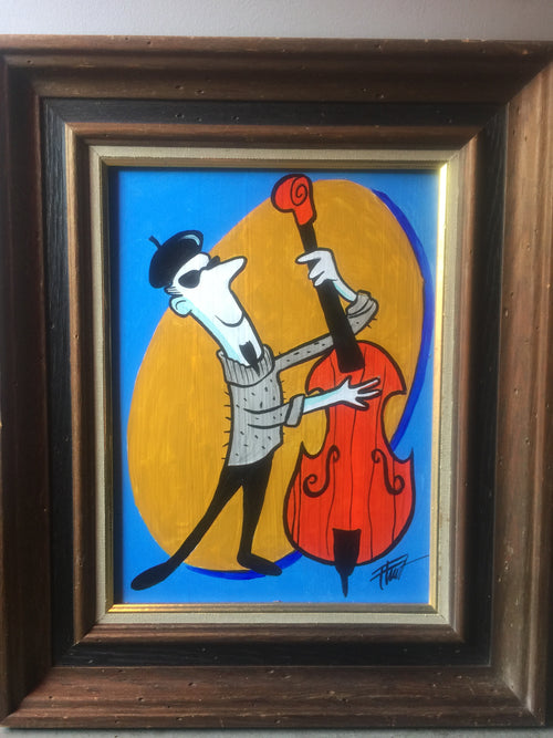 """Bass Man"" by William ""Bubba"" Flint $100"