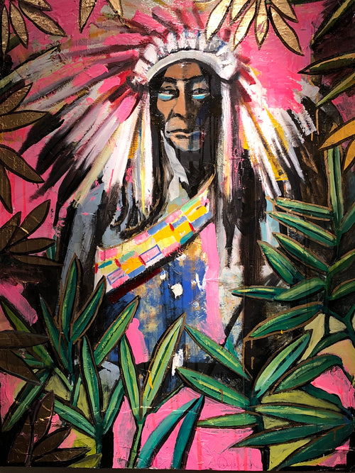 """A Chief In The Pink"" by Scott Dykema"