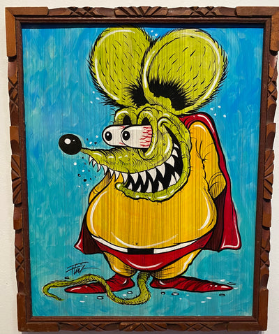 """Mighty Fink"" by William 'Bubba' Flint $150"